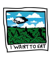 Толстовка I want to eat