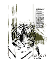 Женская футболка с длинным рукавом Safari