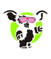 Детская футболка  Магвай Гизмо - кислотный гоблин