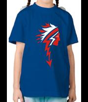 Детская футболка  Индеец