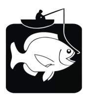 Футболка поло мужская Рыбак и большая рыба