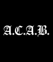 Толстовка ACAB