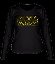Женская футболка с длинным рукавом Star Wars