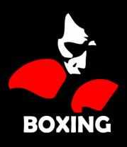 Мужская футболка  Russia boxing
