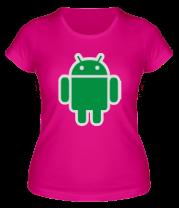 Женская футболка  Robot