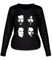 Женская футболка с длинным рукавом Metallica