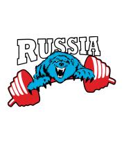 Мужская футболка  Russia PR