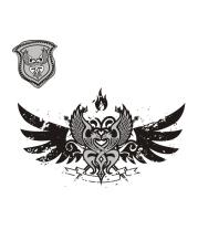 Футболка поло мужская Кельтский орнамент