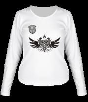 Женская футболка с длинным рукавом Кельтский орнамент