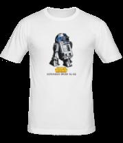 Мужская футболка  R2D2