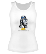 Женская майка борцовка R2D2