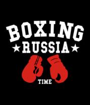 Женская футболка  Boxing Russia