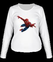 Женская футболка с длинным рукавом Человек Паук