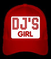 Бейсболка Dj's Girl