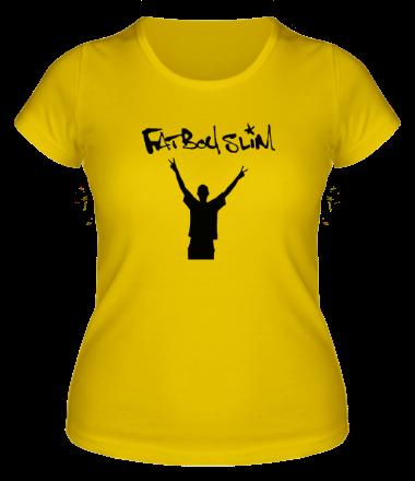 Женская футболка  Fatboyslim