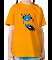 Детская футболка  Смайл dj
