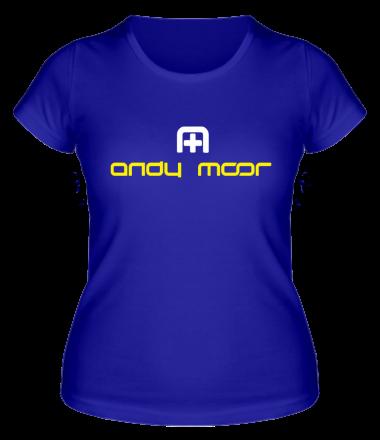 Женская футболка  Andy Moor