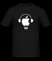 Мужская футболка  Apple DJ