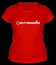 Женская футболка  Armada