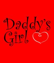 Детская футболка  Daddy's Girl
