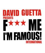 Мужская футболка  David Guetta Fuck me I'm Famous