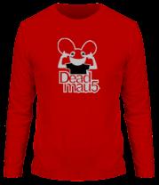 Мужская футболка с длинным рукавом DeadMau5
