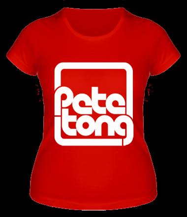 Женская футболка  Pete Tong