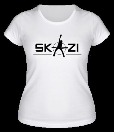 Женская футболка  Skazi