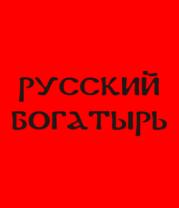 Женская футболка  Русский богатырь