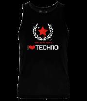 Мужская майка Techno СССР