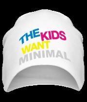 Шапка The Kids want minimal