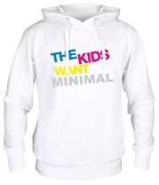 Толстовка The Kids want minimal