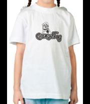 Детская футболка  Crazy Frog