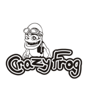 Толстовка Crazy Frog