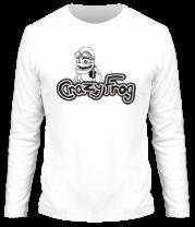 Мужская футболка с длинным рукавом Crazy Frog