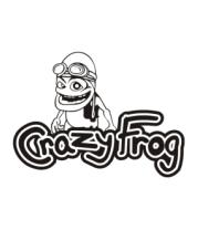 Женская футболка с длинным рукавом Crazy Frog