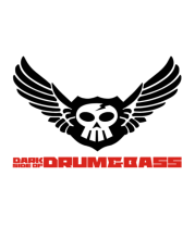 Мужская футболка с длинным рукавом Dark side of Drum&Bass