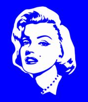 Детская футболка  Мерлин Монро