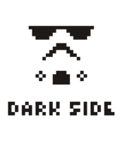 Кружка Dark side pixels