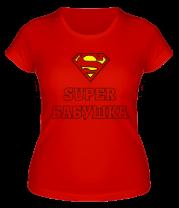 Женская футболка  Супер бабушка