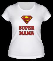 Женская футболка  Super Мама