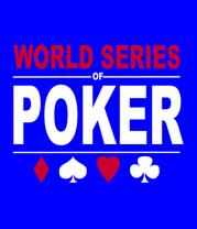 Футболка поло мужская World series of poker