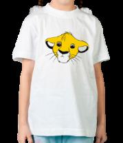 Детская футболка  Симба