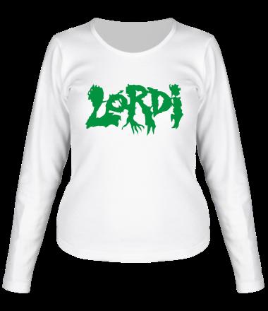 Женская футболка с длинным рукавом Lordi