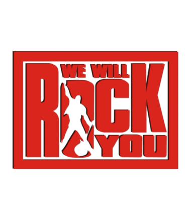 Мужская футболка с длинным рукавом We will rock you