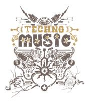 Кружка TechnoMusic