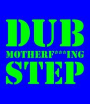 Мужская футболка с длинным рукавом Dub mutherfuking step