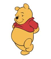 Детская футболка  Винни Пух