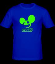 Мужская футболка  Deadmau5