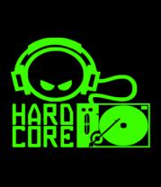 Футболка поло мужская Hard core DJ